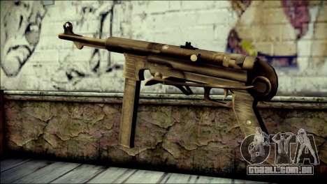 MP40 from Call of Duty World at War para GTA San Andreas segunda tela