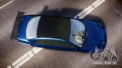 Ubermacht Sentinel STD Sport para GTA 4 vista direita