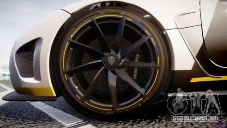Koenigsegg Agera 2013 Police [EPM] v1.1 PJ3 para GTA 4 vista de volta
