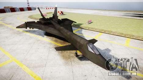 O MiG-31 De Raposa De Fogo para GTA 4