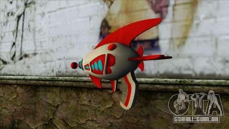 Dead Or Alive 5 LR Kasumi Fighter Force Gun para GTA San Andreas segunda tela