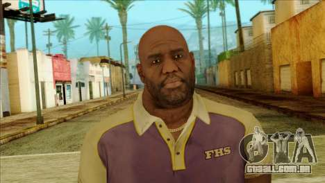 Coach from Left 4 Dead 2 para GTA San Andreas terceira tela