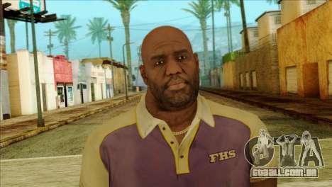 Coach from Left 4 Dead 2 para GTA San Andreas terceira tela