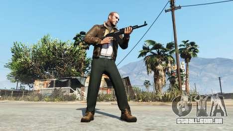 GTA 5 Niko Bellic terceiro screenshot