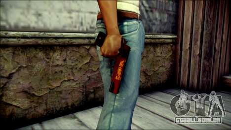 Dual Colt Red Dragon CF para GTA San Andreas terceira tela