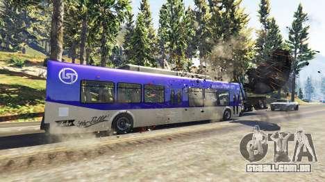 GTA 5 Pesados, autocarros e camiões segundo screenshot