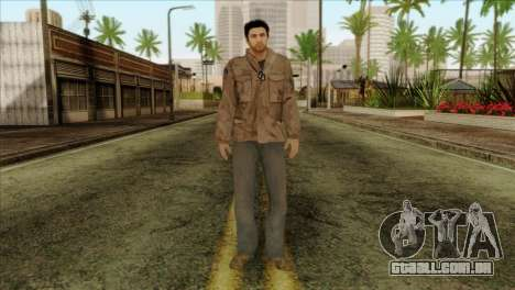 Classic Alex Shepherd Skin without Flashlight para GTA San Andreas