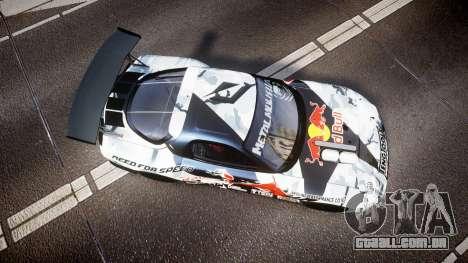 Mazda RX-7 Mad Mike Final Update one PJ para GTA 4 vista direita