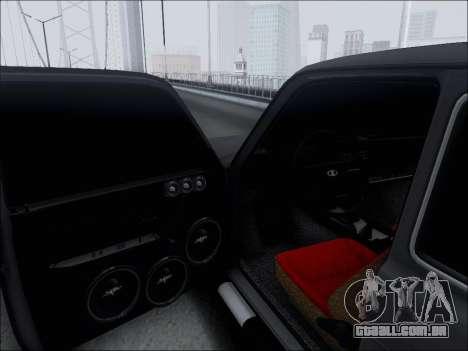 Lada Niva para vista lateral GTA San Andreas