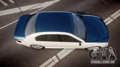 Ubermacht Oracle XS Sport para GTA 4 vista direita