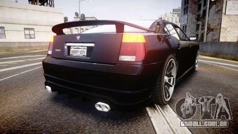 Bravado Buffalo Tuning para GTA 4 traseira esquerda vista