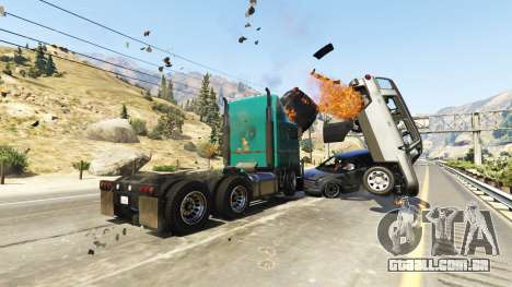 GTA 5 Pesados, autocarros e camiões quarto screenshot