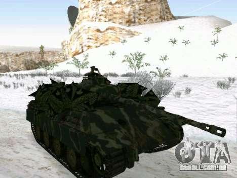 Panther para GTA San Andreas vista direita
