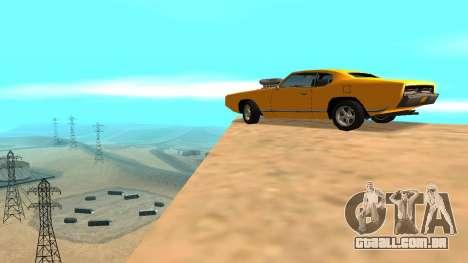Sabre Charger para as rodas de GTA San Andreas