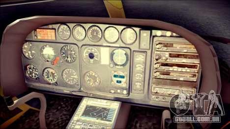 Esquilo 350 Fuerza Aerea Paraguaya para GTA San Andreas vista direita