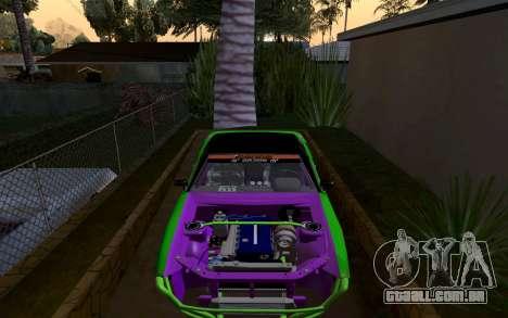 DGTK Elegy v1 para GTA San Andreas vista direita