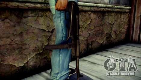 MP40 from Call of Duty World at War para GTA San Andreas terceira tela