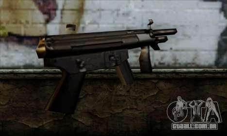 MP5K From LCS para GTA San Andreas segunda tela