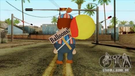 Balloon Boy from Five Nights at Freddys 2 para GTA San Andreas segunda tela