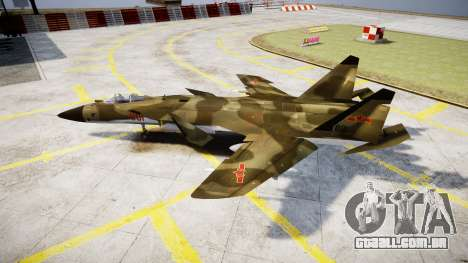 O Su-47 Berkut floresta para GTA 4