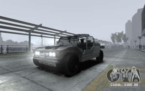 LYT-2021 para GTA 4 vista interior