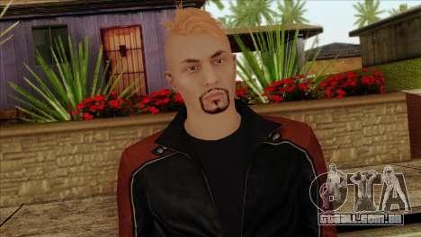 Skin 4 from Heists GTA Online DLC para GTA San Andreas terceira tela