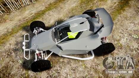 Buggy X para GTA 4 vista direita
