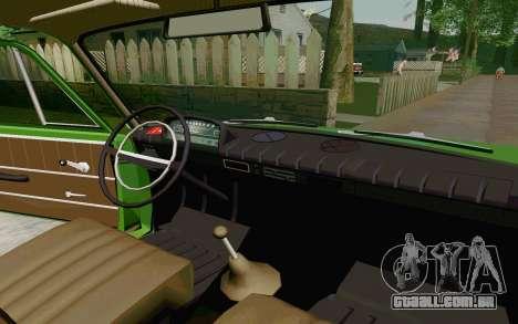 VAZ-2801 para GTA San Andreas vista traseira