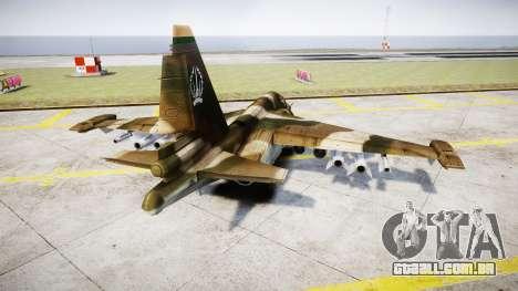 O su-39 para GTA 4 traseira esquerda vista