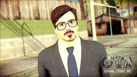 Tony Stark Skin para GTA San Andreas terceira tela