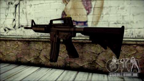 Rumble 6 Assault Rifle para GTA San Andreas segunda tela
