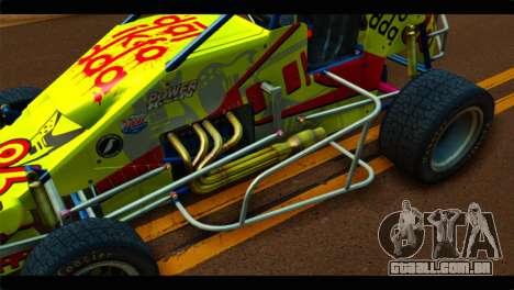 Larock Sprinter para GTA San Andreas vista traseira