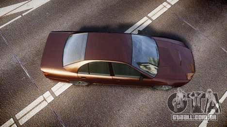 Maibatsu Vincent 16V Tuned para GTA 4 vista direita