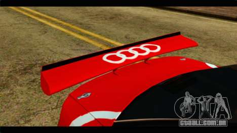 Audi S4 B5 2002 Champion Racing para GTA San Andreas vista traseira