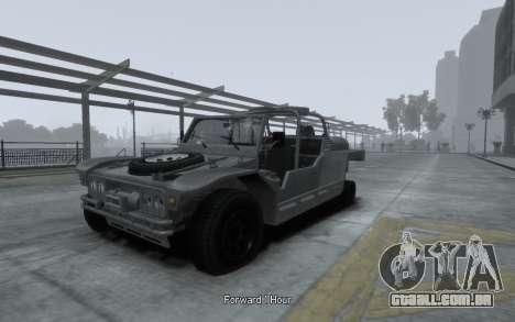 LYT-2021 para GTA 4 vista de volta