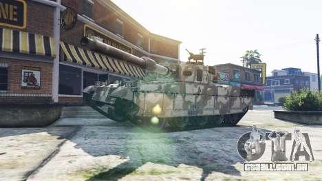 Tanques com 5 estrelas para GTA 5