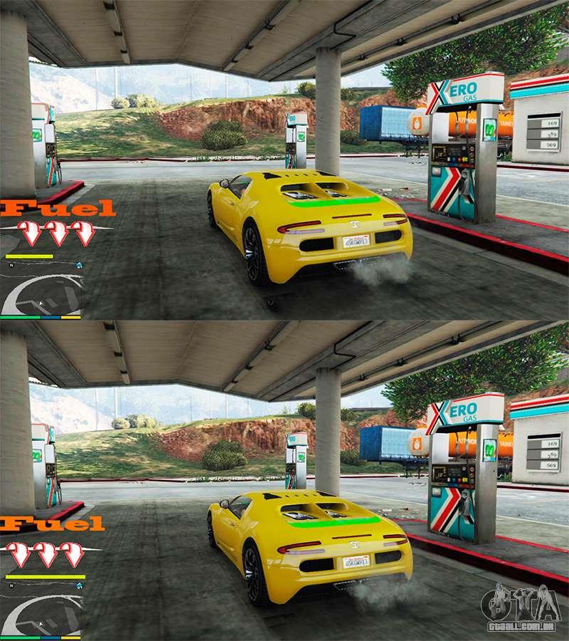 Mod Gasolina + Contador para Gta 5 - MODS PARA GTA V