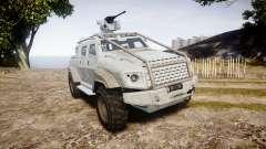 GTA V HVY Insurgent Pick-Up para GTA 4