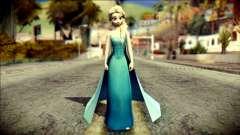 Frozen Elsa v2 para GTA San Andreas