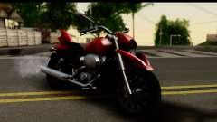 Honda Shadow 750 para GTA San Andreas