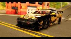 Nissan Silvia S15 Kagamine Rin Itasha para GTA San Andreas