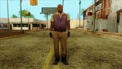 Coach from Left 4 Dead 2 para GTA San Andreas