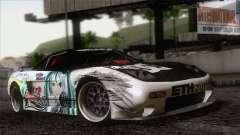 Acura NSX Miku Ghoul Itasha