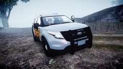 Ford Explorer Police Interceptor [ELS] marked