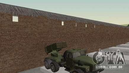 Ural 375 Grad MLRS para GTA San Andreas