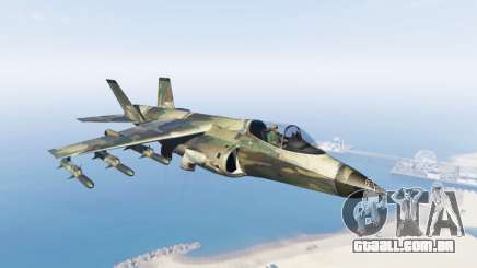 Hydra green camouflage para GTA 5