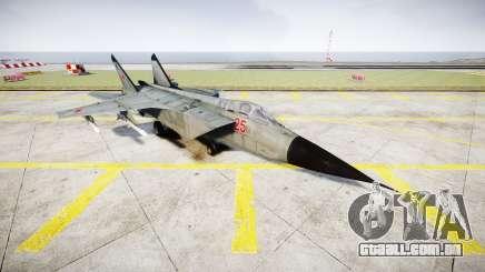 O MiG-25 para GTA 4