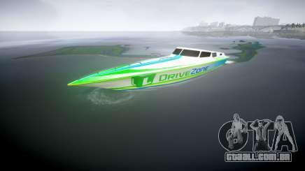 Motor de barco para GTA 4