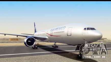 Boeing 777-200ER AeroMexico para GTA San Andreas
