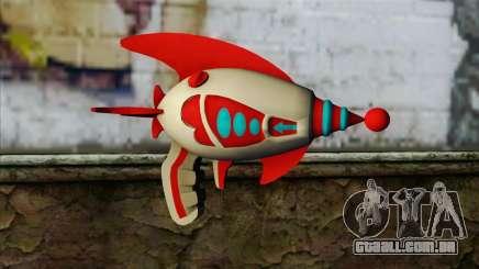 Dead Or Alive 5 LR Kasumi Fighter Force Gun para GTA San Andreas